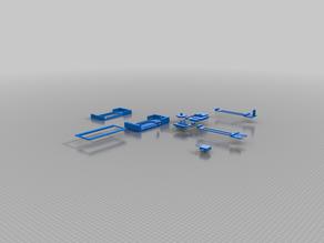 flat 2d plotter for 28BYJ stepper motors