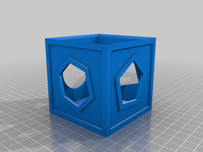 DnD Prop - Cube of Force effect