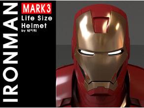 NEW IRON MAN MARK 3(life size helmet)