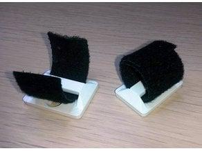 Velcro mount point anchor