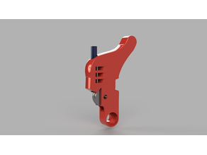 Idler Arm with grooved bearing for E3D Titan Aero, Titan , and clones