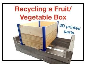 Corners for wood box
