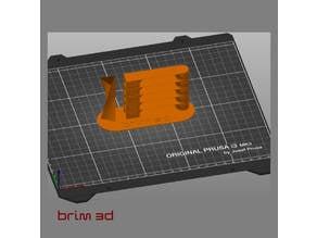 Temperature calibration tower brim3d V2