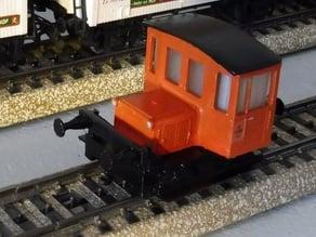 DSB Traktor 57 - Olsen Banden Lokomotive H0 - Gauge
