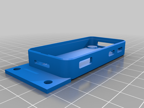 Raspberry pi zero case for ender 3 with holes
