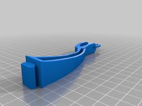 Ender 3 Filament Guide with pouley