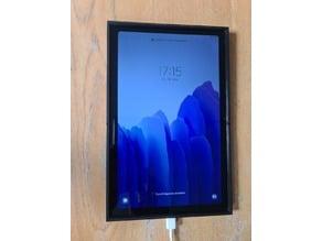 Samsung Galaxy Tab A7 WallMount Hochformat