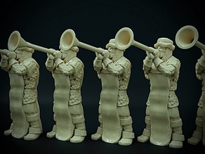 Townsfolke: Trumpeter (32mm scale)