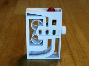 Modular Candy Dispenser - Open Push Button Cartridges