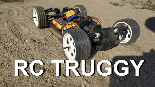 RC Truggy - Fully 3D printed RC car