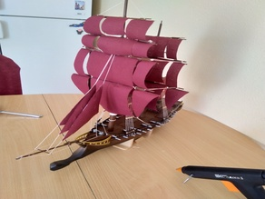 Jackdaw ship (for table top games)