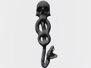 Death Eater Snake Pendant