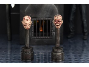 """NECA Action Figure Head Stand For 7"""" Ultimate Freddy Krueger (ANOES)"""
