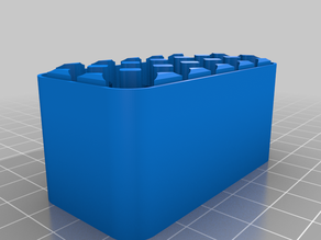 My Customized Battery Case  6X3 AAA BOTTOM
