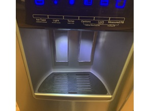 Fridge Water / Ice Dispenser Tray - Whirlpool V2