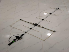 M1GEO/G8OCV Moxon Antenna with 9W2FLP Accessories