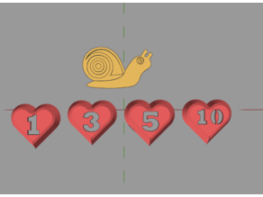 Simple Game Tokens
