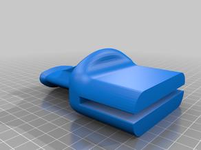 Strong 5mm Glass desk Headphones holder