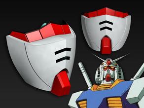 COVID-19 Mask Cap, Gundam RX-78 Edition