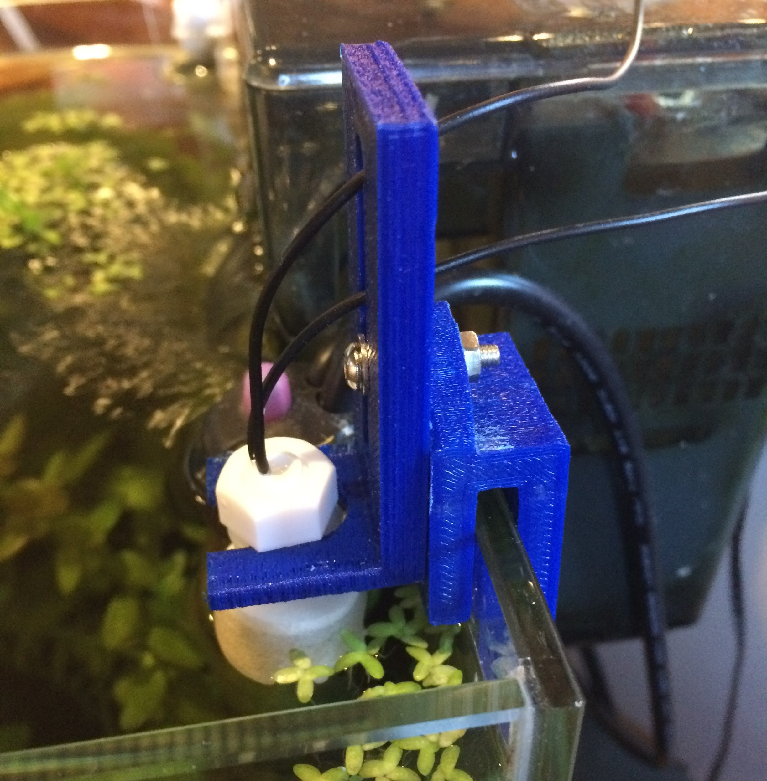 Float Switch Bracket by pootermobile Thingiverse