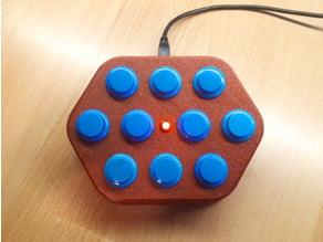 Macro Keyboard (Arcade Switches)