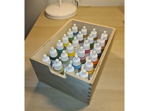 Drawer insert for The Army Painter, Vallejo or Citadel paint bottles