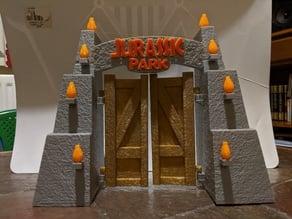 Ultimate Jurassic Park Gate (Textured)