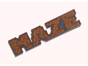 Maze masking