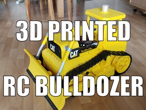 Caterpillar Bulldozer, RC