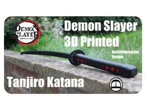 Demon Slayer Tanjiro Katana