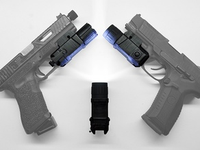 Pistol flashlight (airsoft)