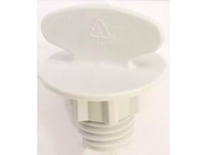 Kenmore Model 66515782300 Lower Spray Nut WP8268873