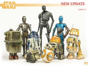 Star Wars Legion Scale Droid pack.