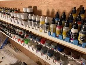 Model Paint Racks