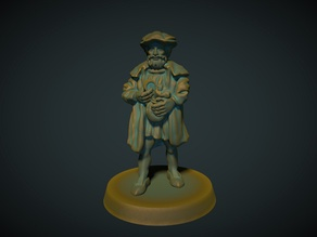 Merchant 28mm (no supports needed)