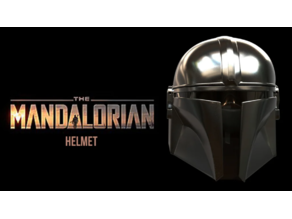 The Mandalorian Helmet Split