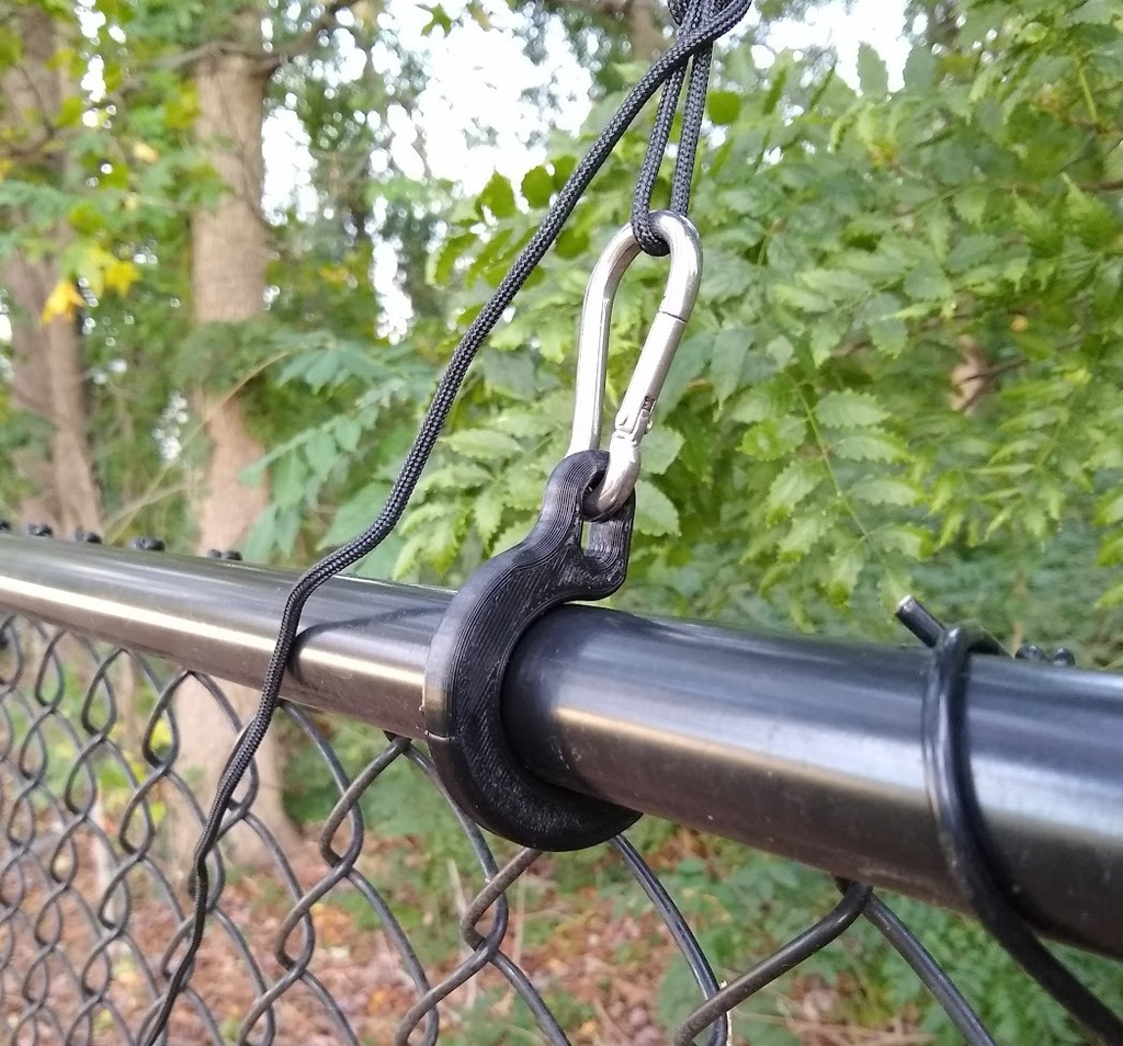Fence Anchor for Wire Antenna