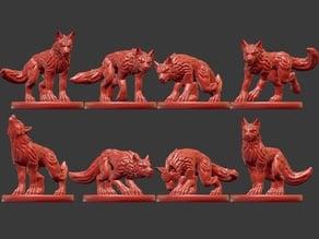 Wolves Miniatures