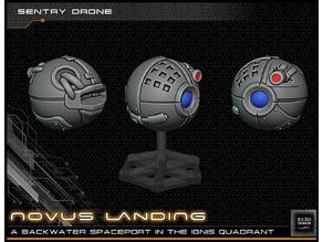 Sentry Ball Droid - 28-32mm gaming - Novus Landing