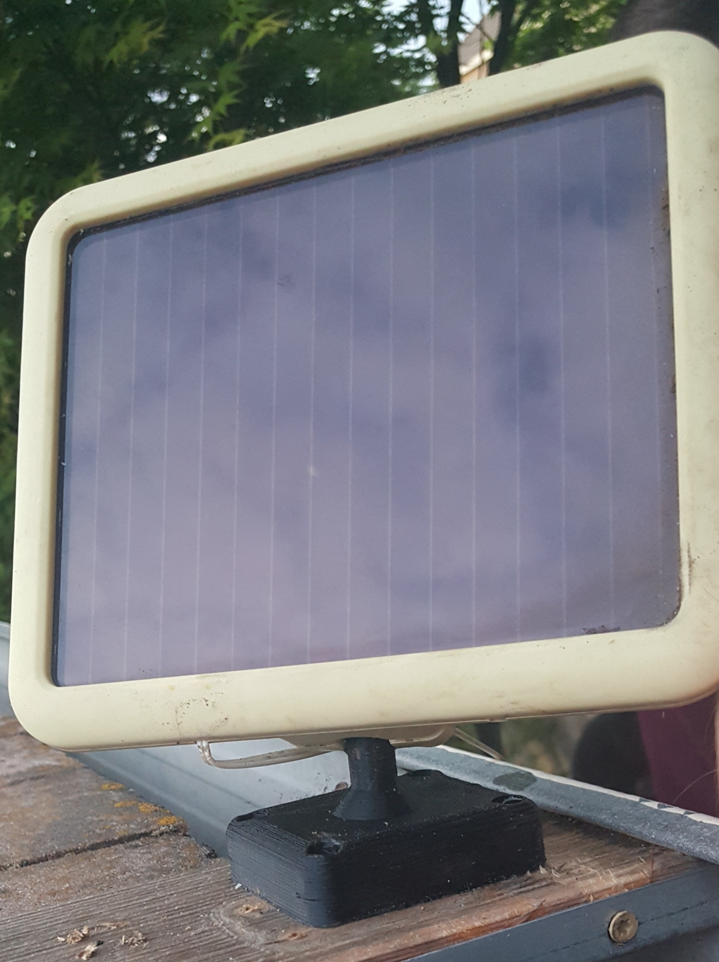 Mini Solar Panel Ball Mount