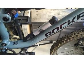 Support VTT pompe à main VTT Décathlon MTB pump