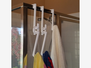 Shower Hook with Extender Loop