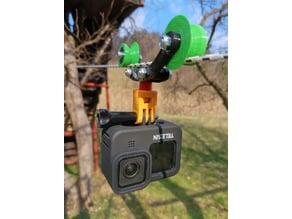 Zipline GoPro (Cablecam)
