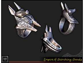 Anubis Ring - RPG Prop