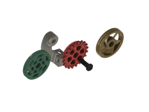 Creality CR10S pro filament guide/feeder