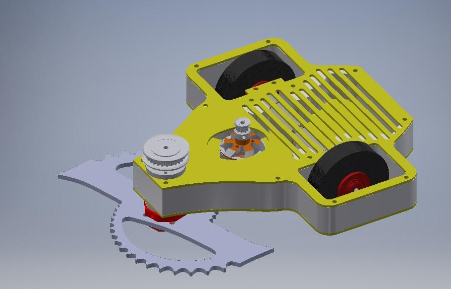 Antweight Horizontal Bar Spinner - Tiger Shark V1