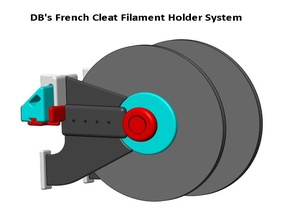 DB's French Cleat Filament Spool Holder