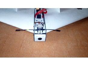 Eachine FuryWing T-antenna/GPS mount
