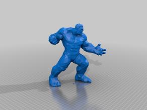 low poly incredible hulk