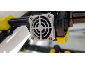 40mm, 50mm, 60mm fan filter housing